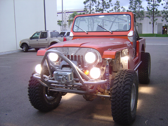 Delta 01-9530-HID3 Grill Bar with H.I.D Lights Jeep JK Compatibility